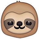Custom Slack Emoji - Sloth